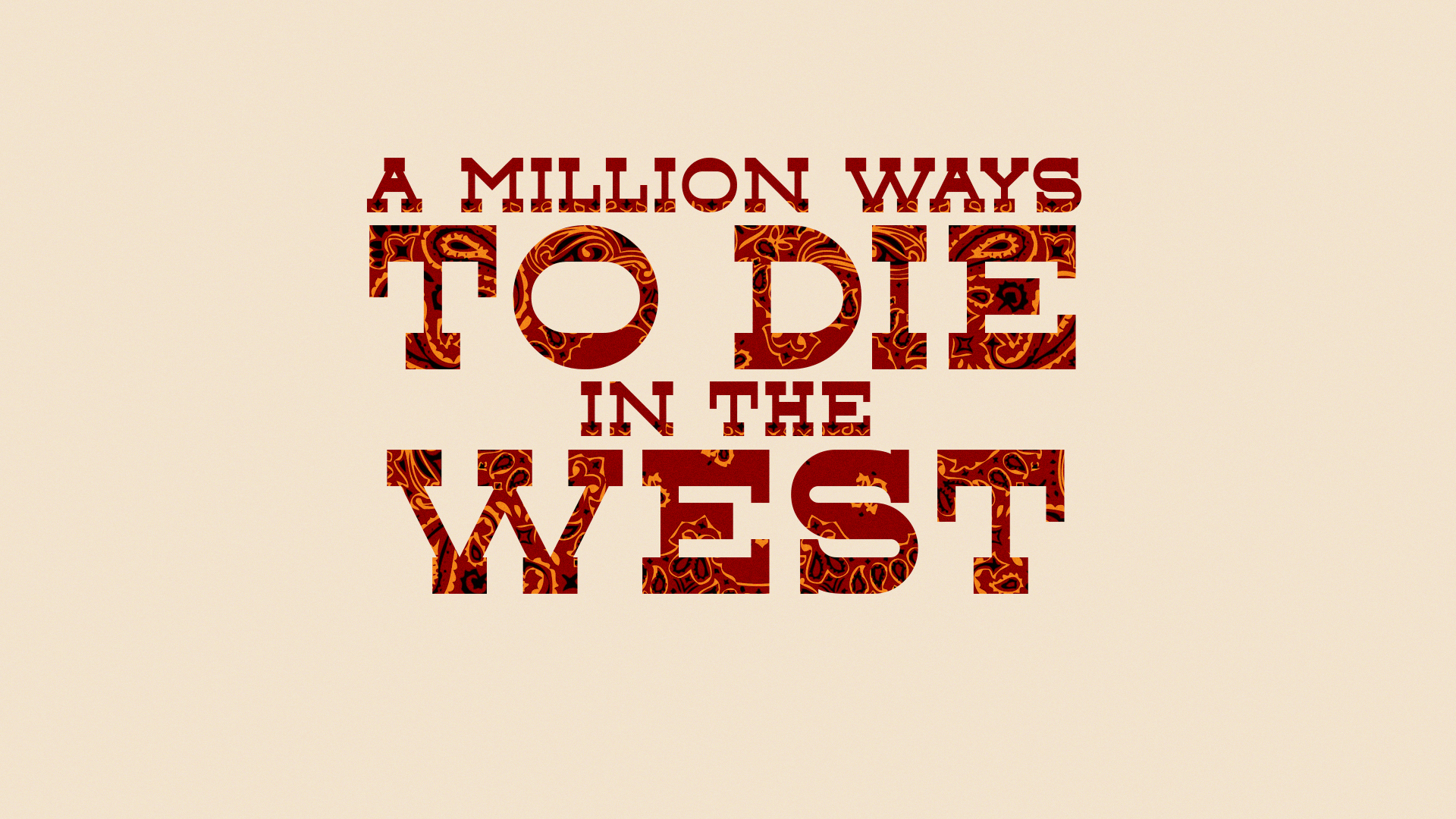 A Million Ways to Die in the West wallpaper 5
