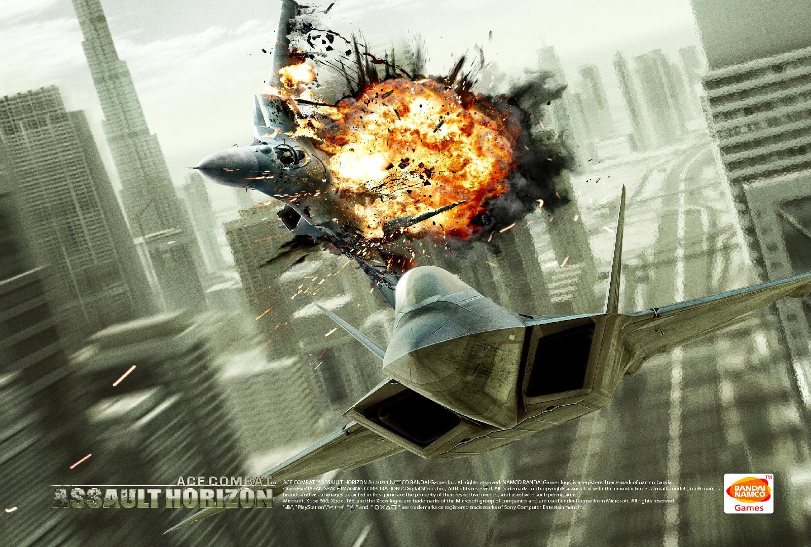Ace Combat Assault Horizon wallpaper 1