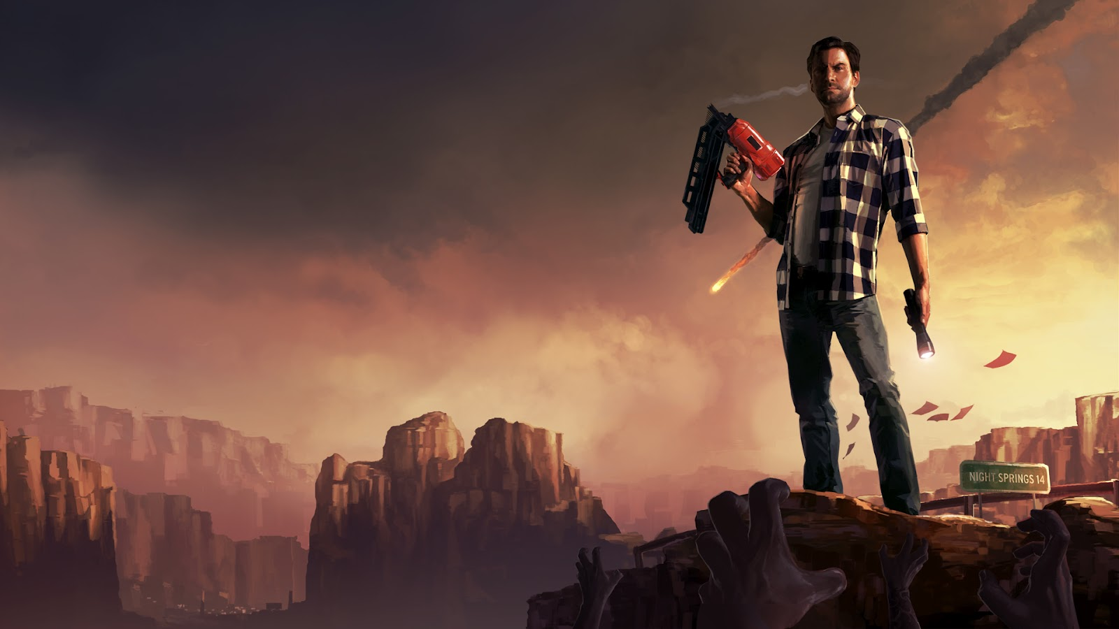 Alan Wake American Nightmare wallpaper 4