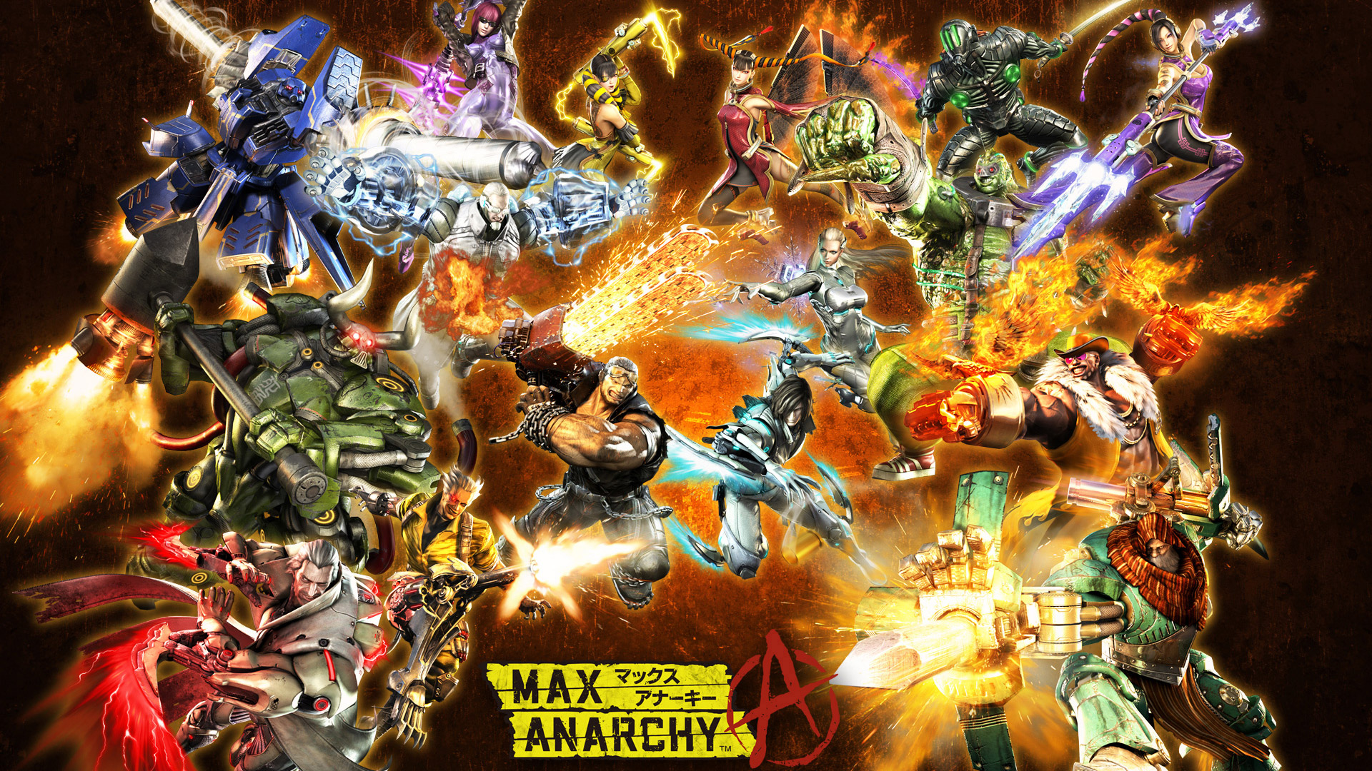 Anarchy Reigns wallpaper 8