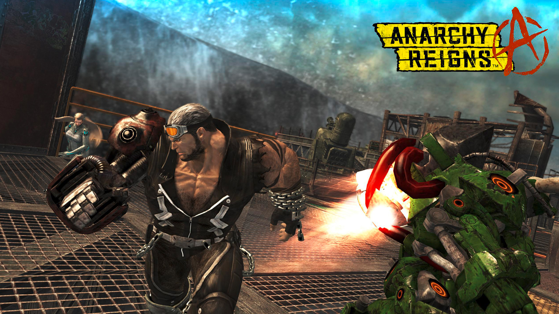 Anarchy Reigns wallpaper 9