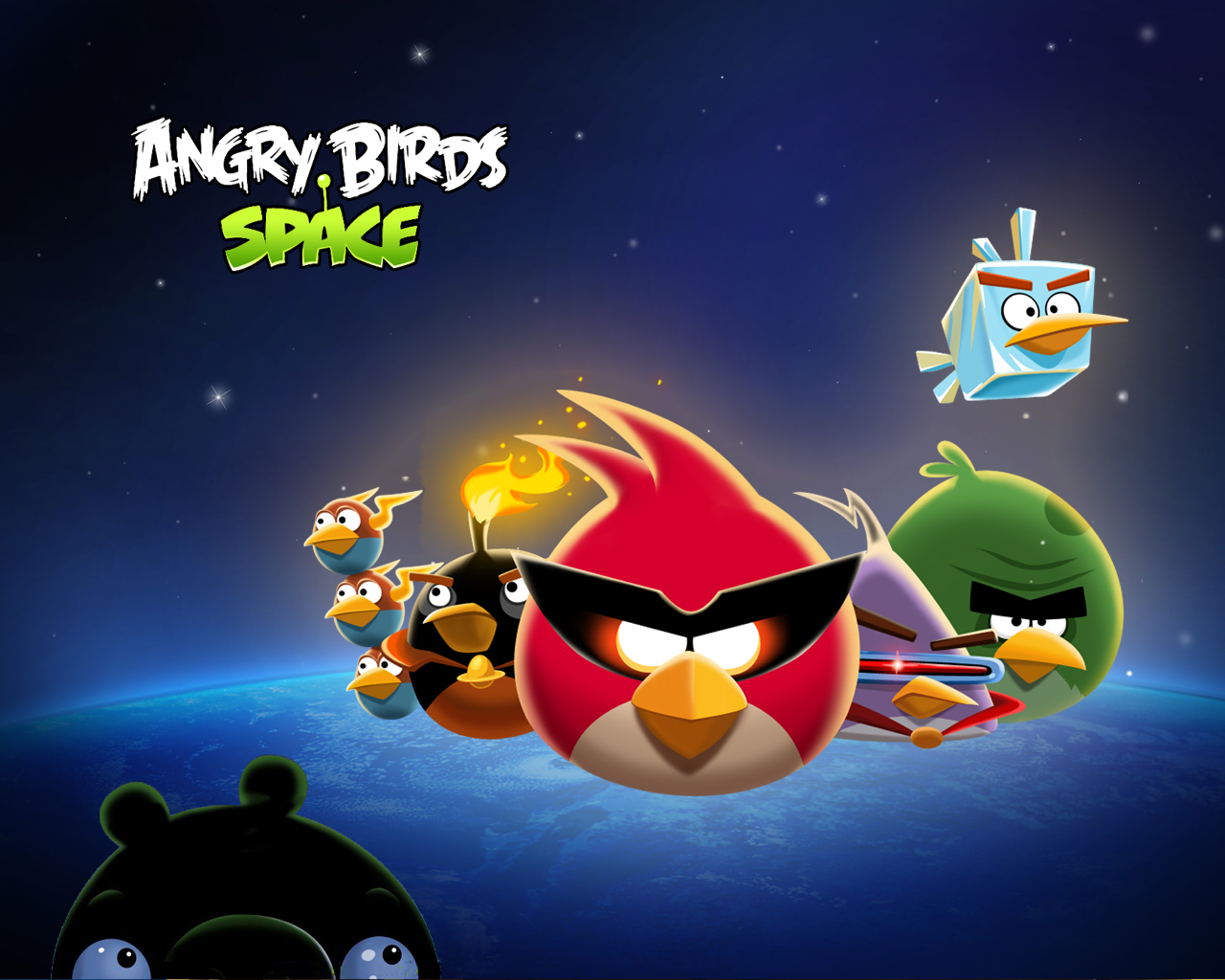 Angry Birds Space wallpaper 5
