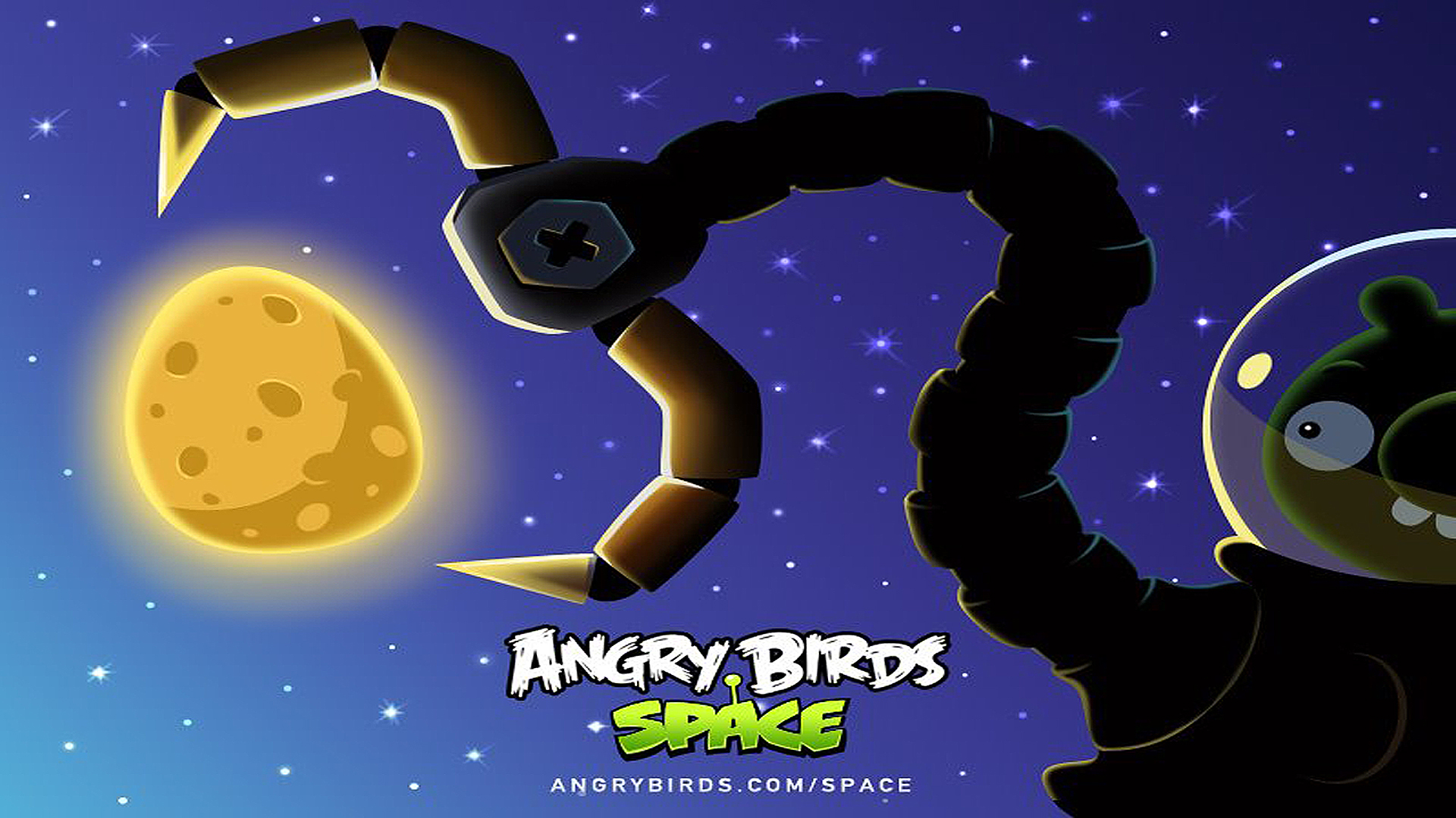 Angry Birds Space wallpaper 6