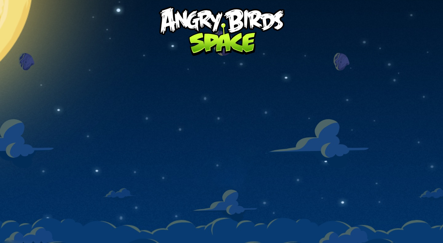 Angry Birds Space wallpaper 7
