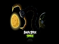 Angry Birds Space wallpaper 3