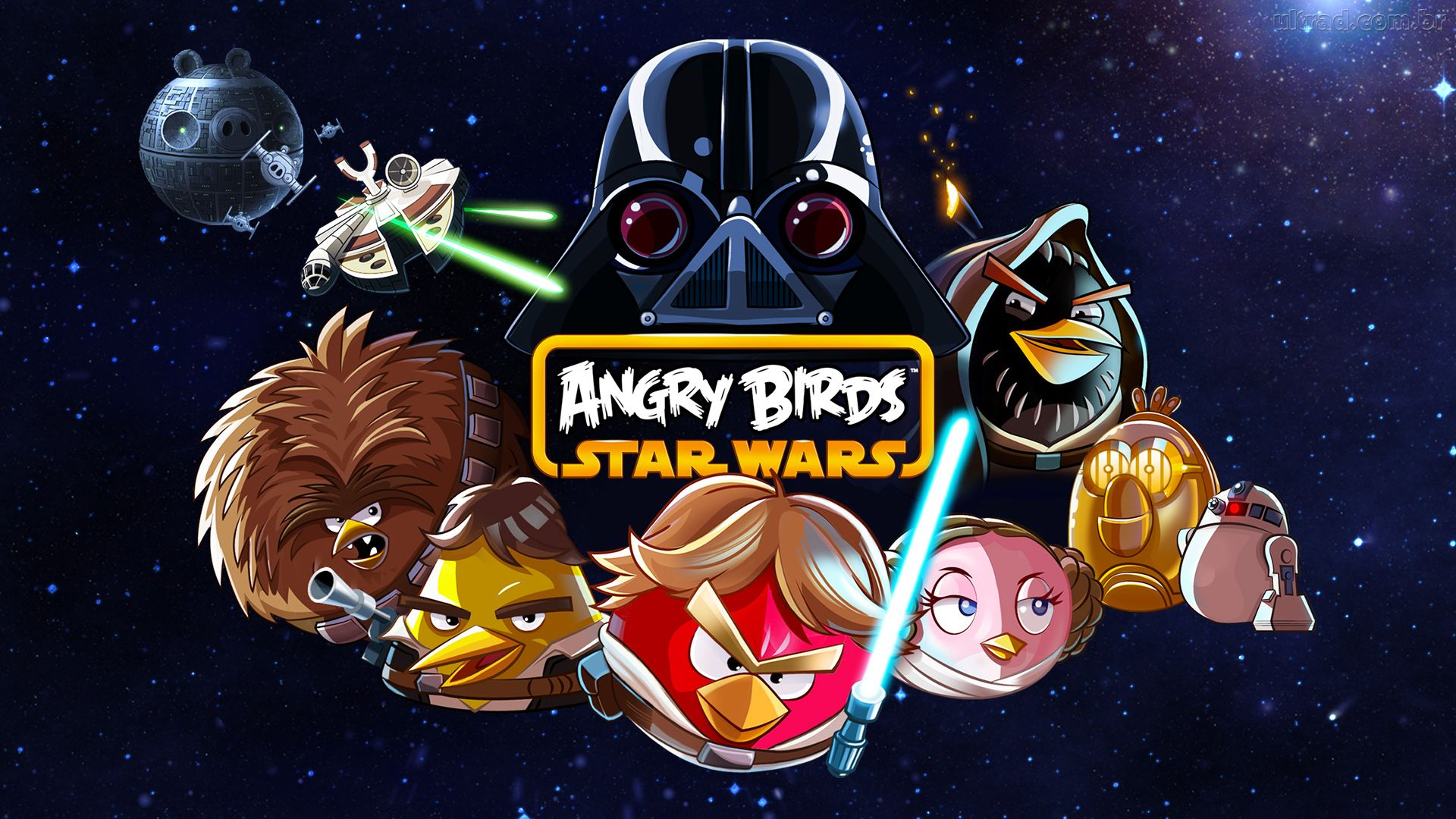 Angry Birds Star Wars wallpaper 10