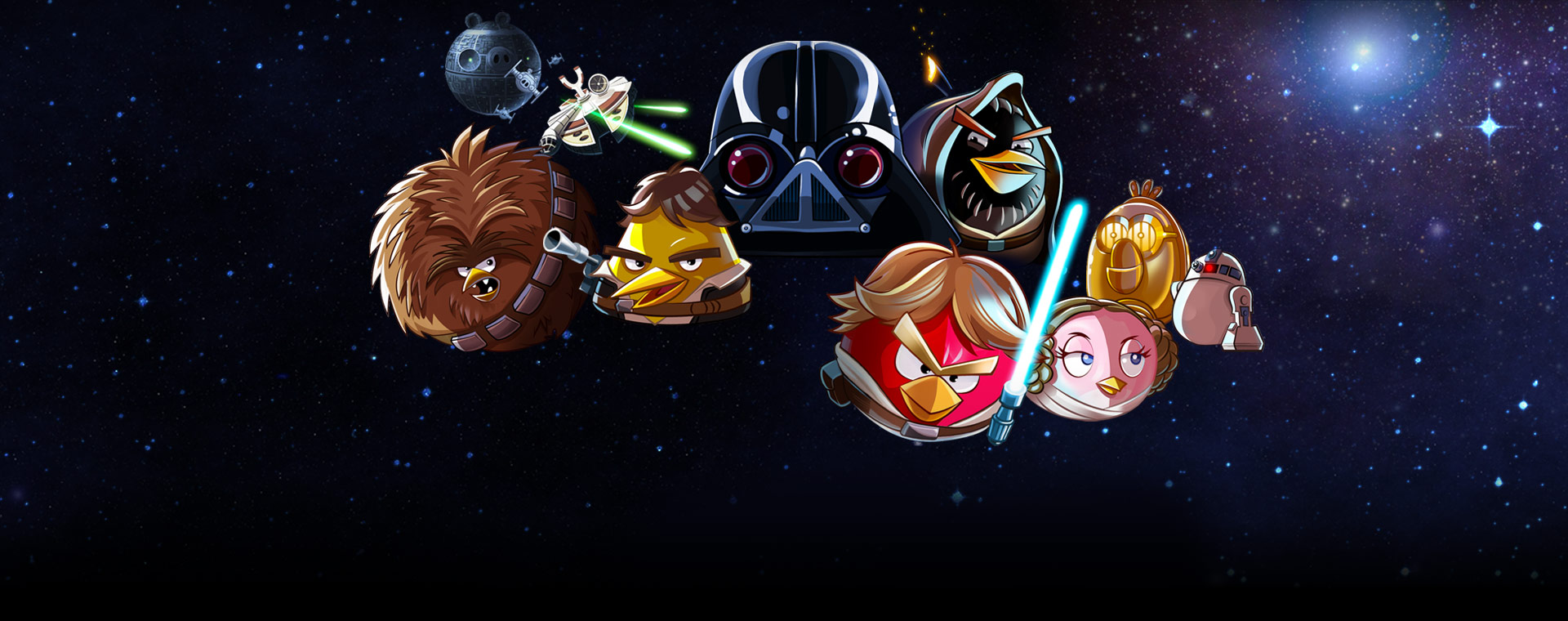 Angry Birds Star Wars wallpaper 7