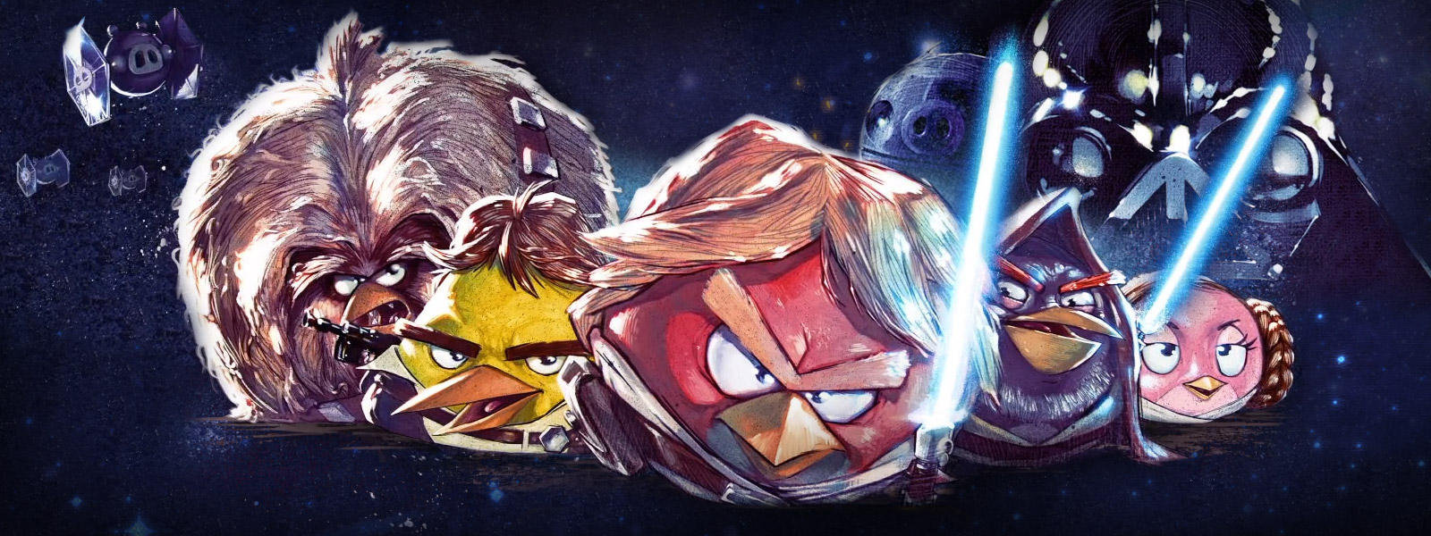 Angry Birds Star Wars wallpaper 8