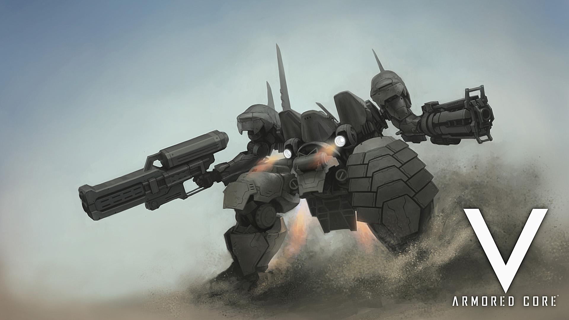 Armored Core V wallpaper 1