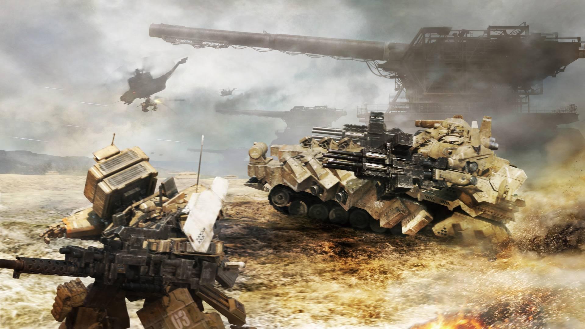Armored Core V wallpaper 5