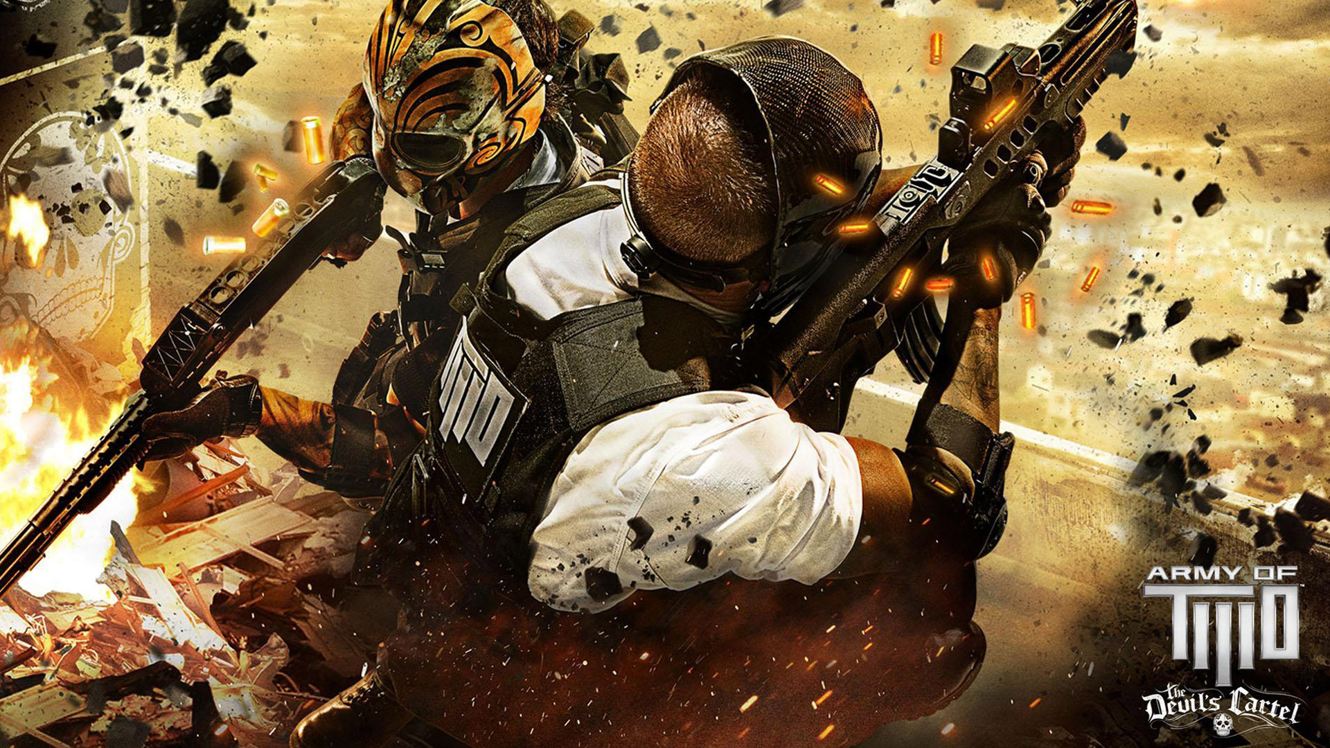 Army of Two Devils Cartel wallpaper 2