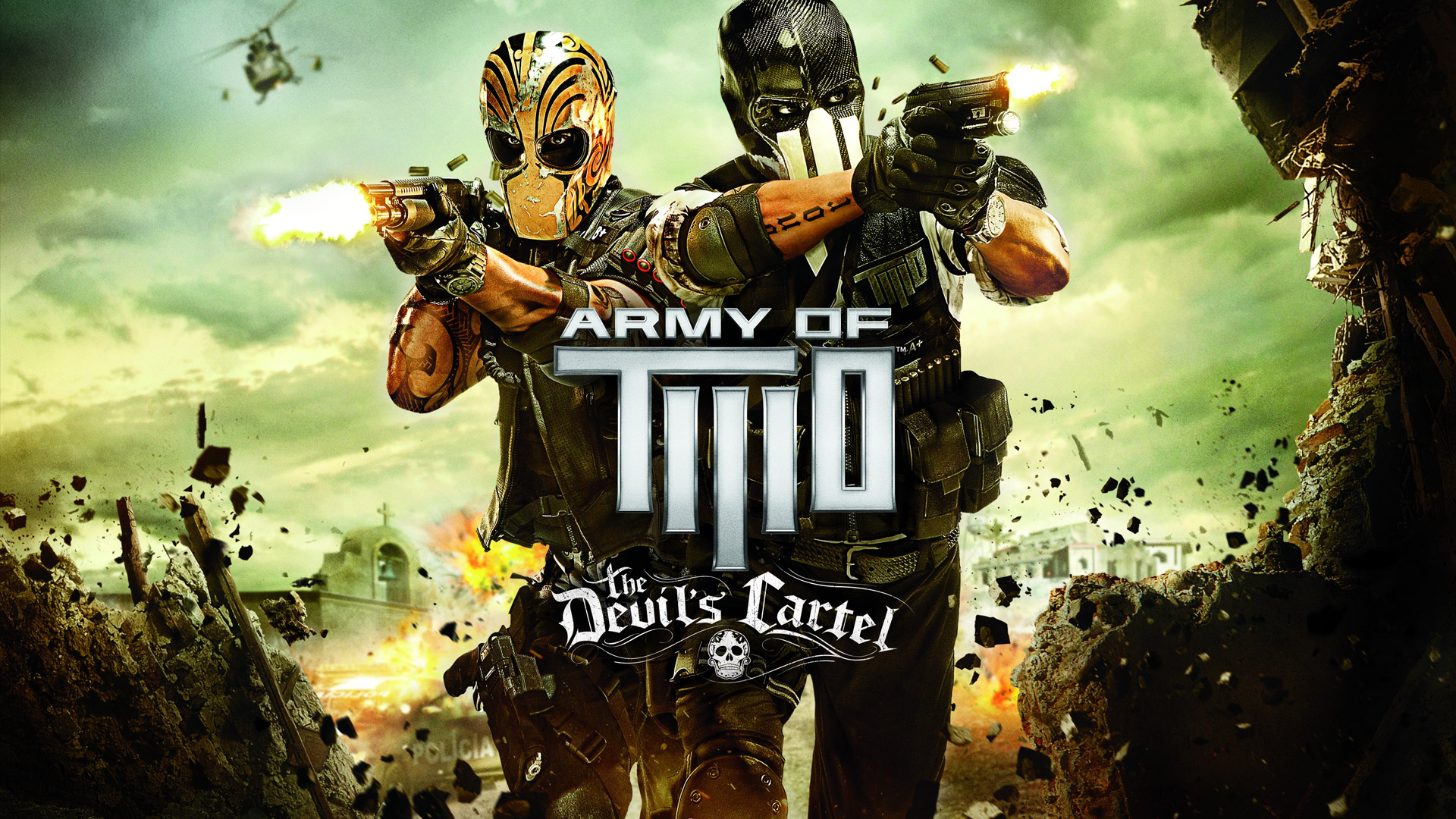 Army of Two Devils Cartel wallpaper 4