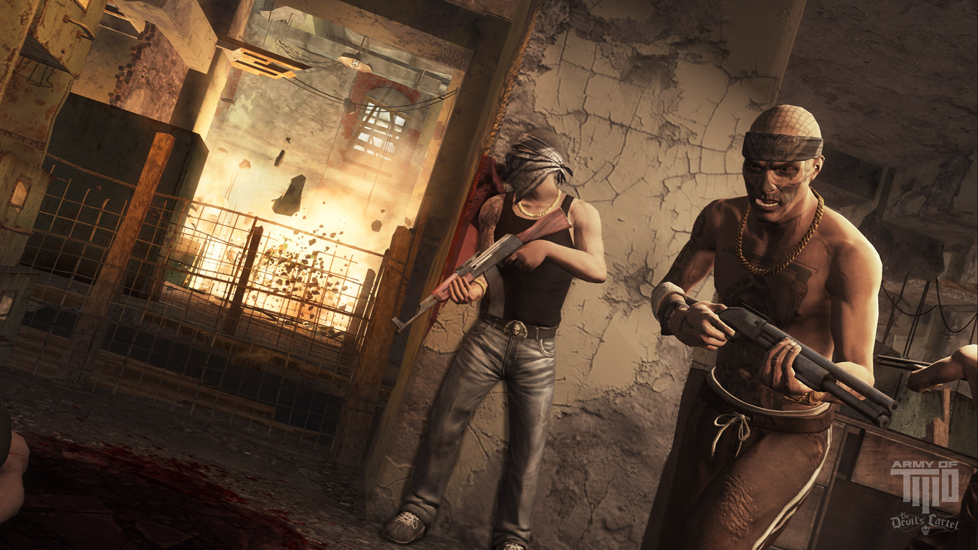 Army of Two Devils Cartel wallpaper 6