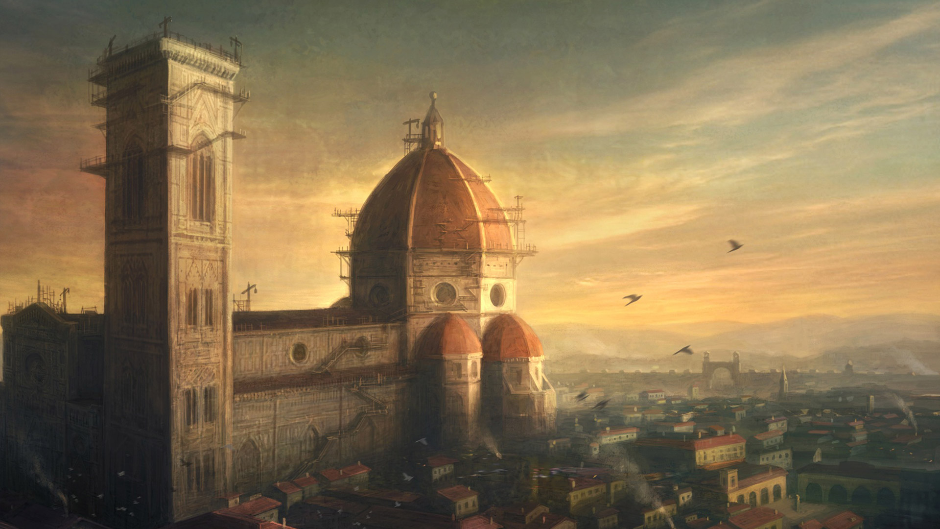 Assassins Creed Brotherhood wallpaper 4