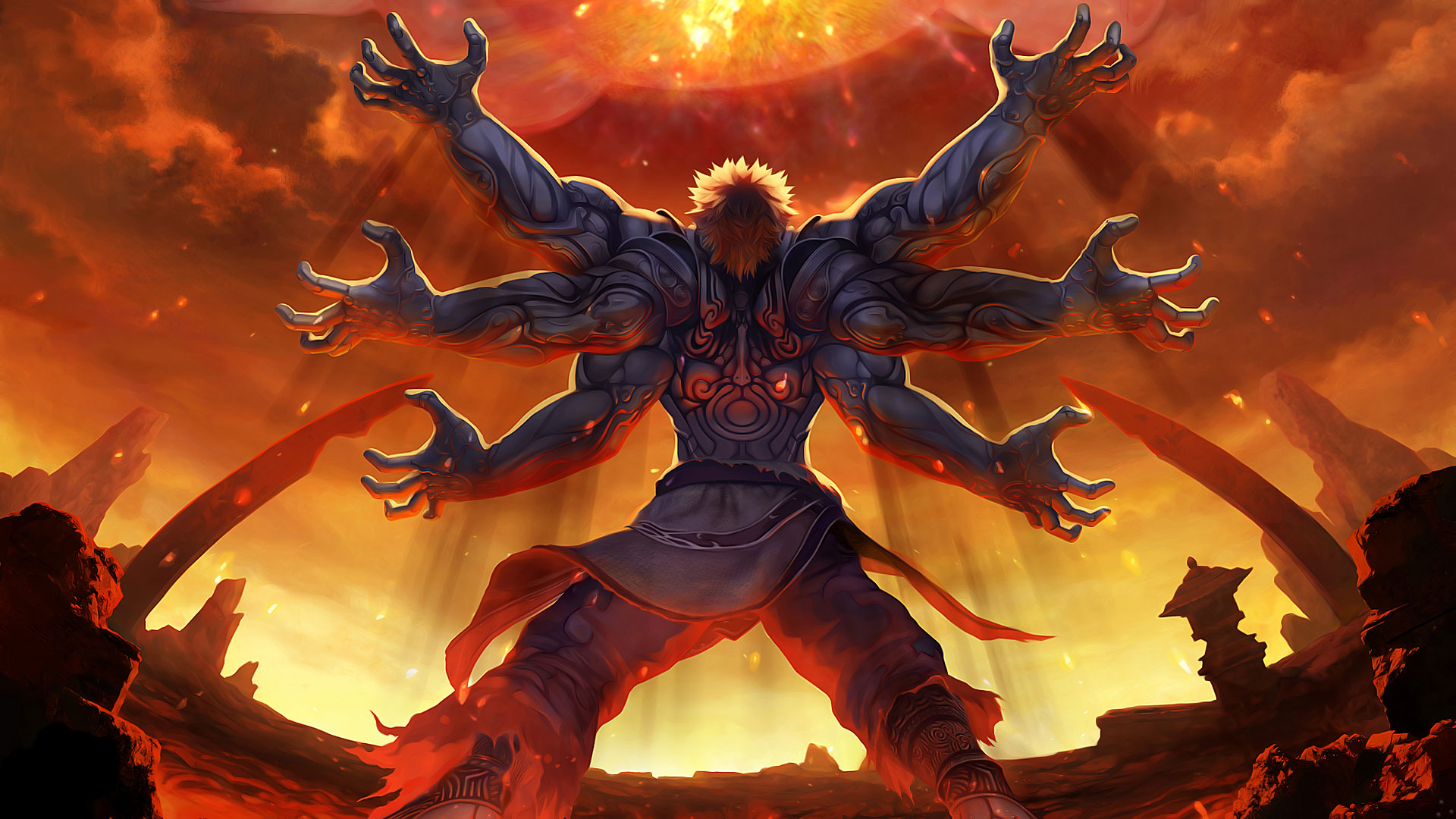 Asuras Wrath wallpaper 2