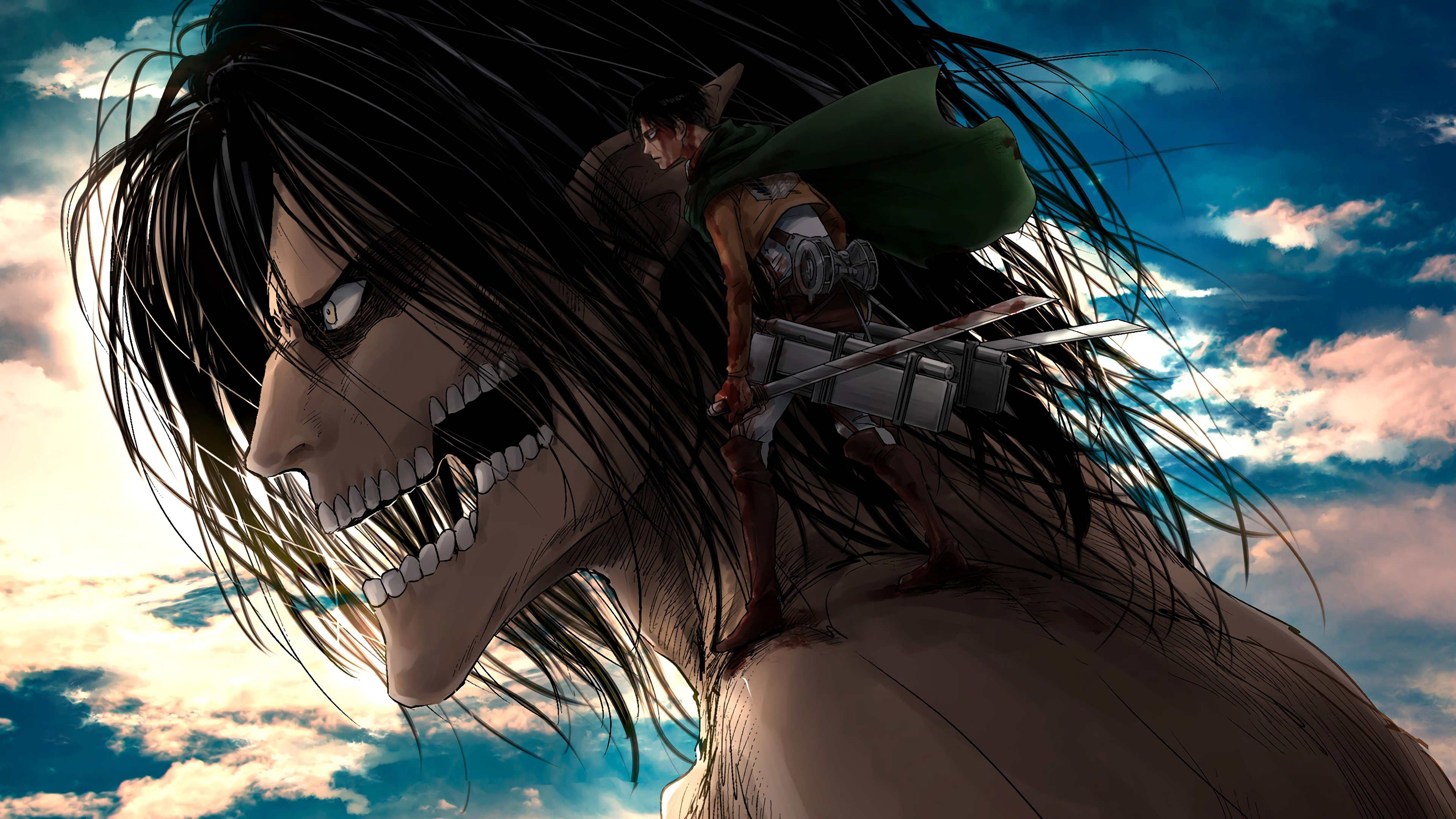 Attack on Titan Season 3 background 19