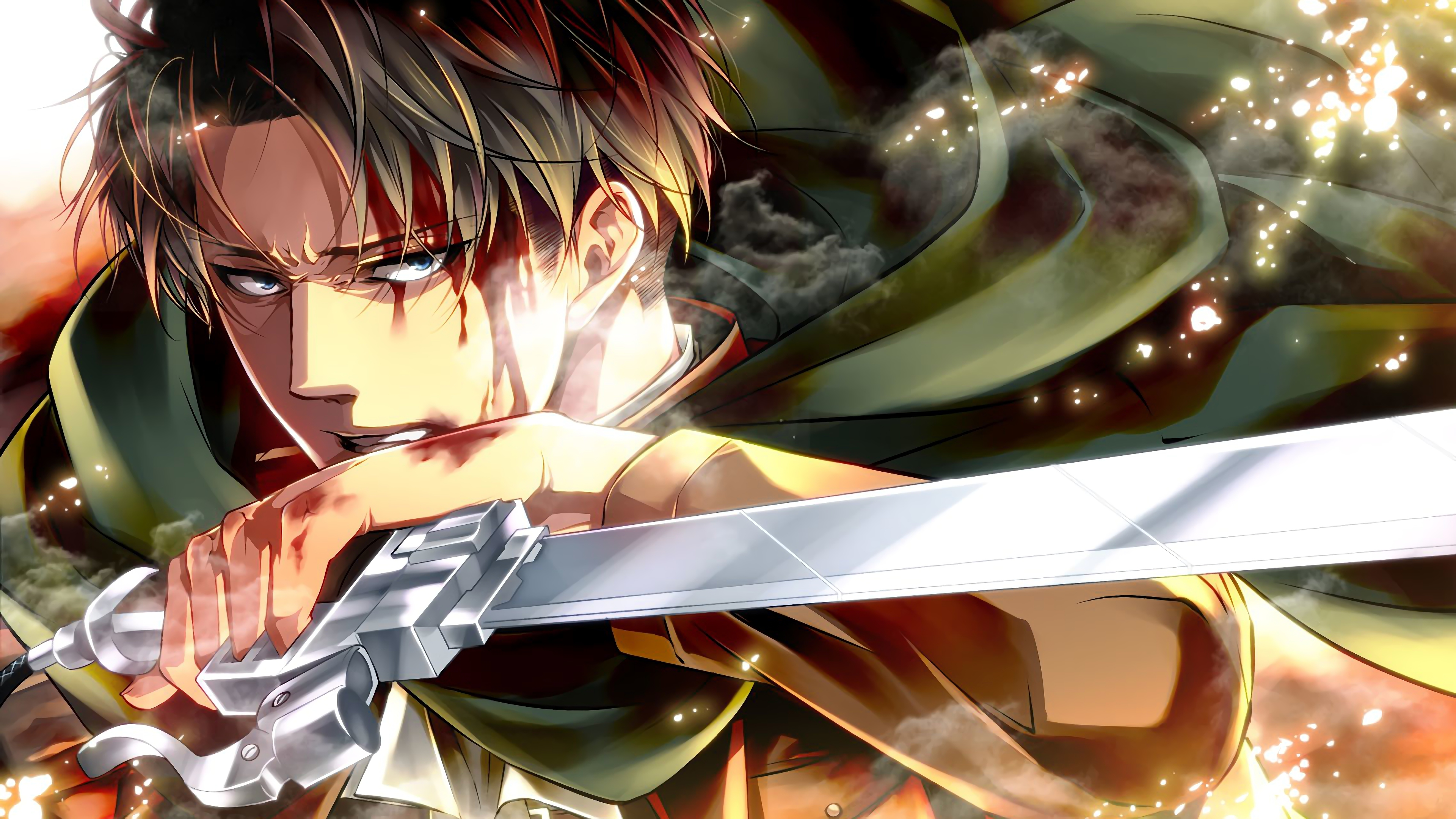 Anime Wallpaper Axe Attack Titan Season 3 Wallpaper
