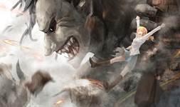 Attack on Titan Season 3 background 4
