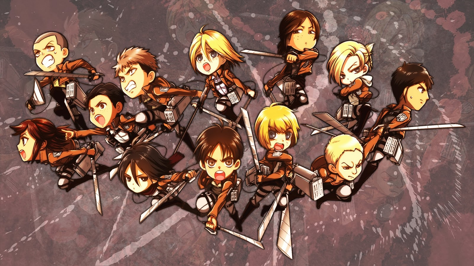 Attack On Titan Wallpaper 15 Wallpapersbq