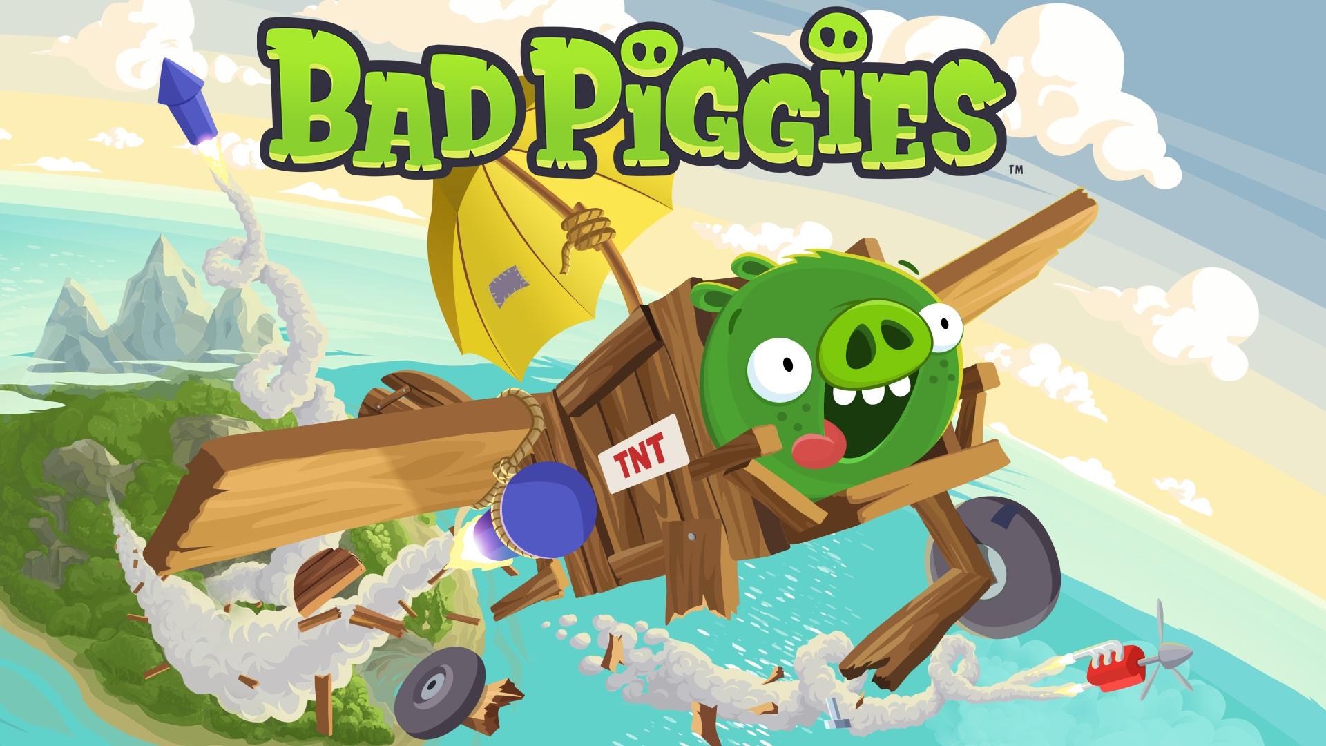 Bad Piggies wallpaper 2