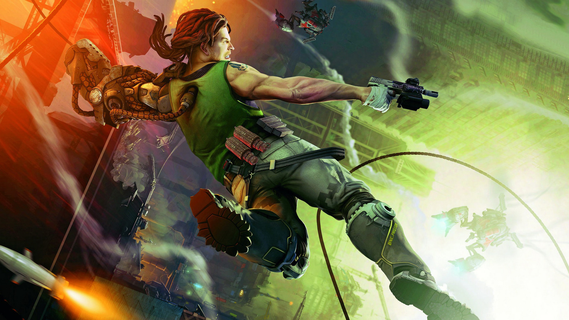 Bionic Commando wallpaper 7