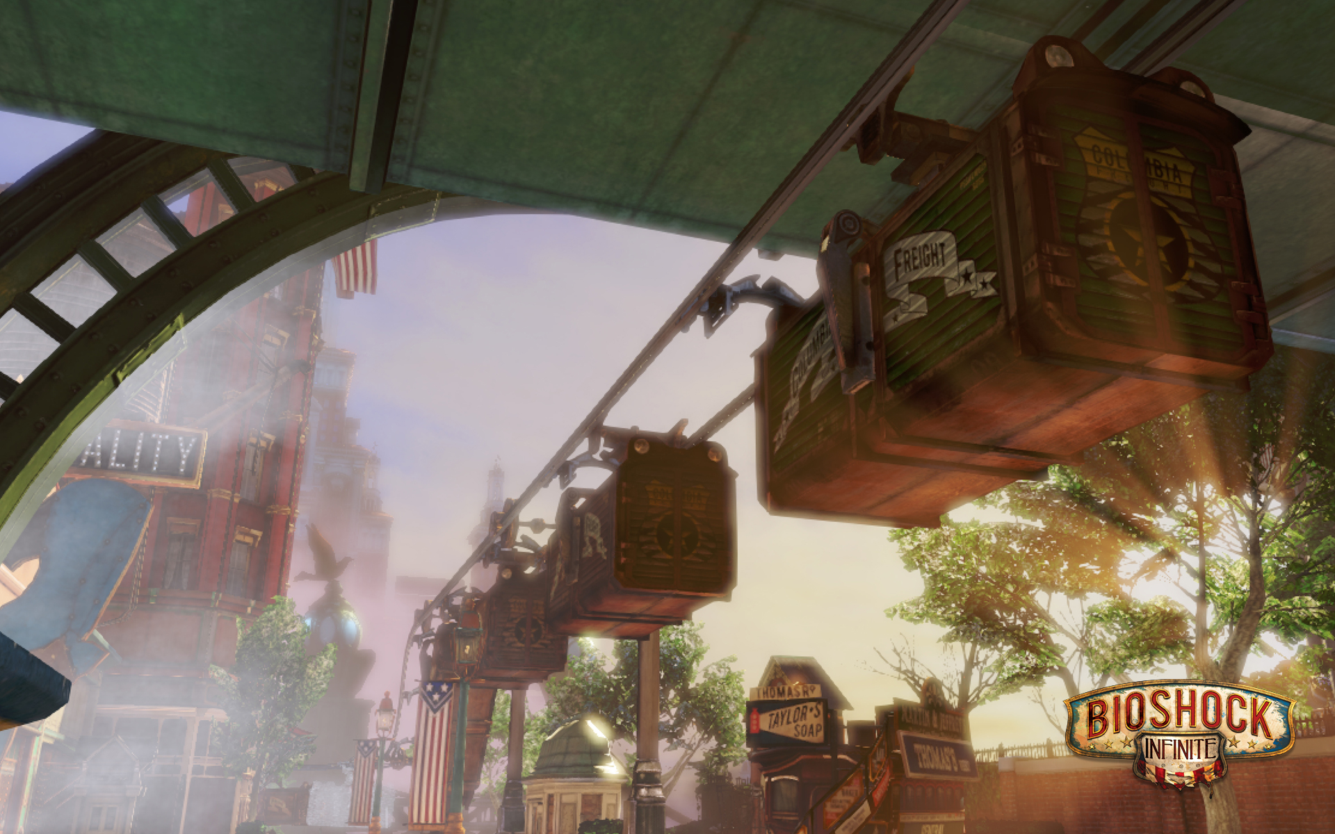 Bioshock Infinite wallpaper 7