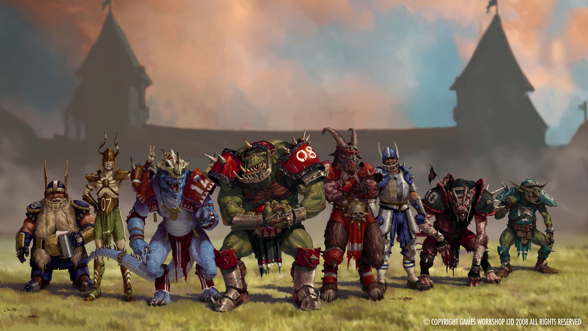 Blood Bowl wallpaper 2