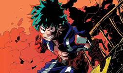 Boku no Hero Deku background 1