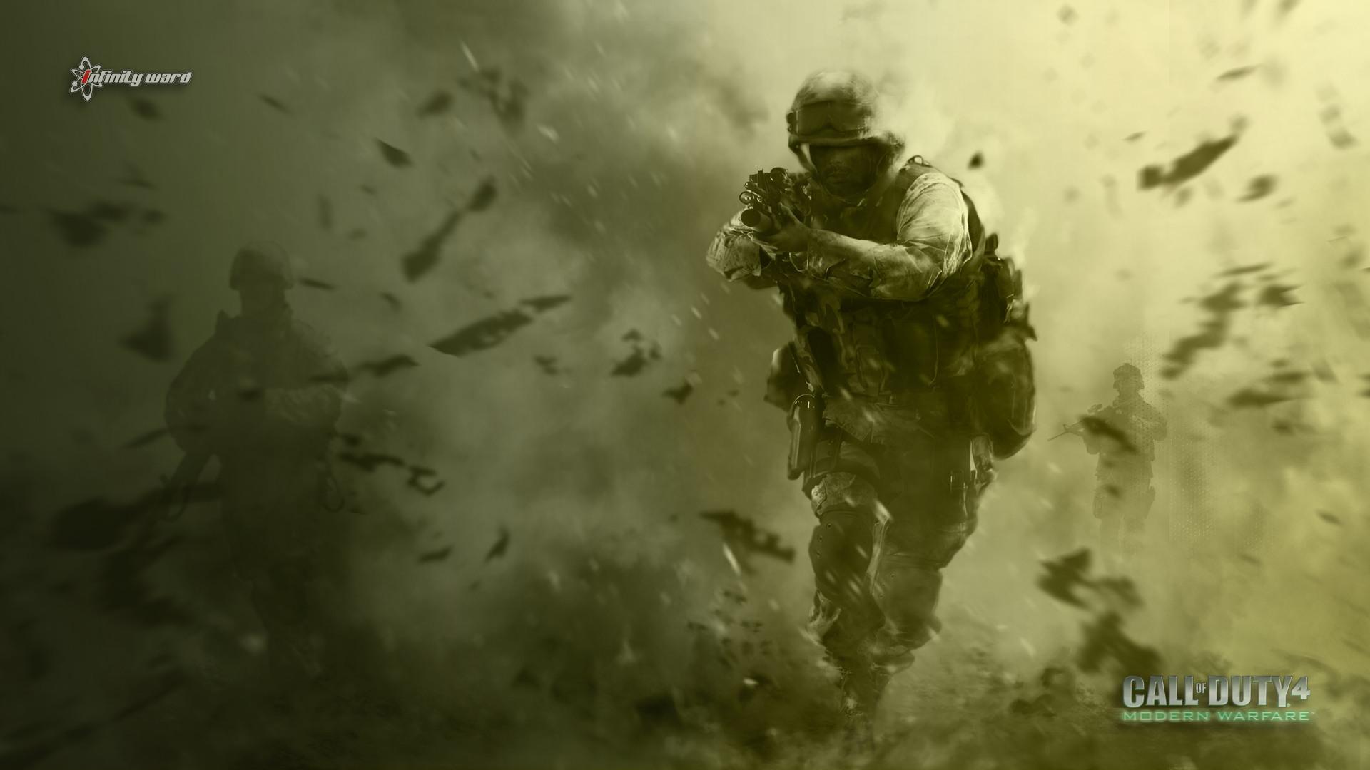 call of duty 4 modern warfare wallpaper 1 | wallpapersbq