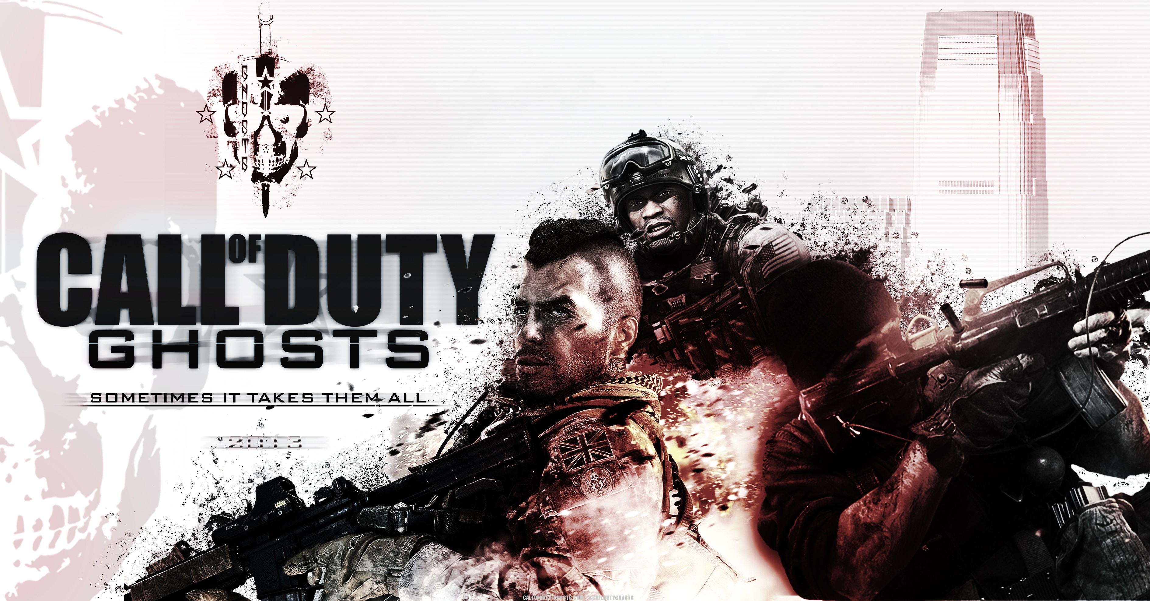Call of Duty Ghosts wallpaper 16