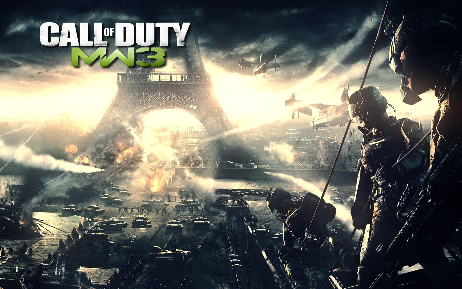 Call Of Duty Modern Warfare 3 Wallpaper 1 Wallpapersbq