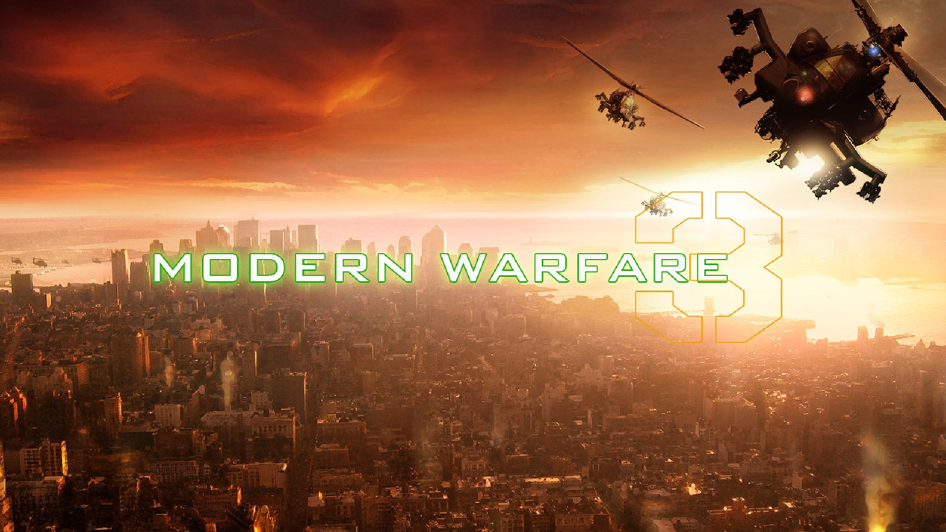 Call Of Duty Modern Warfare 3 Wallpaper 13