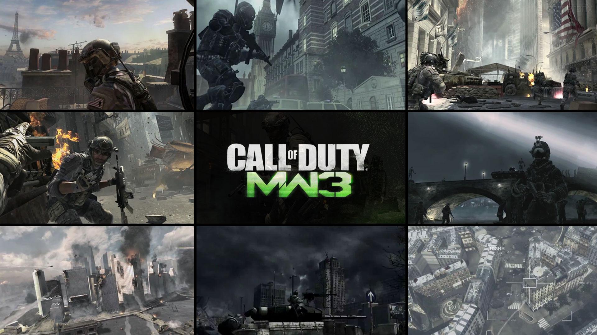 Call of Duty Modern Warfare 3 wallpaper 3