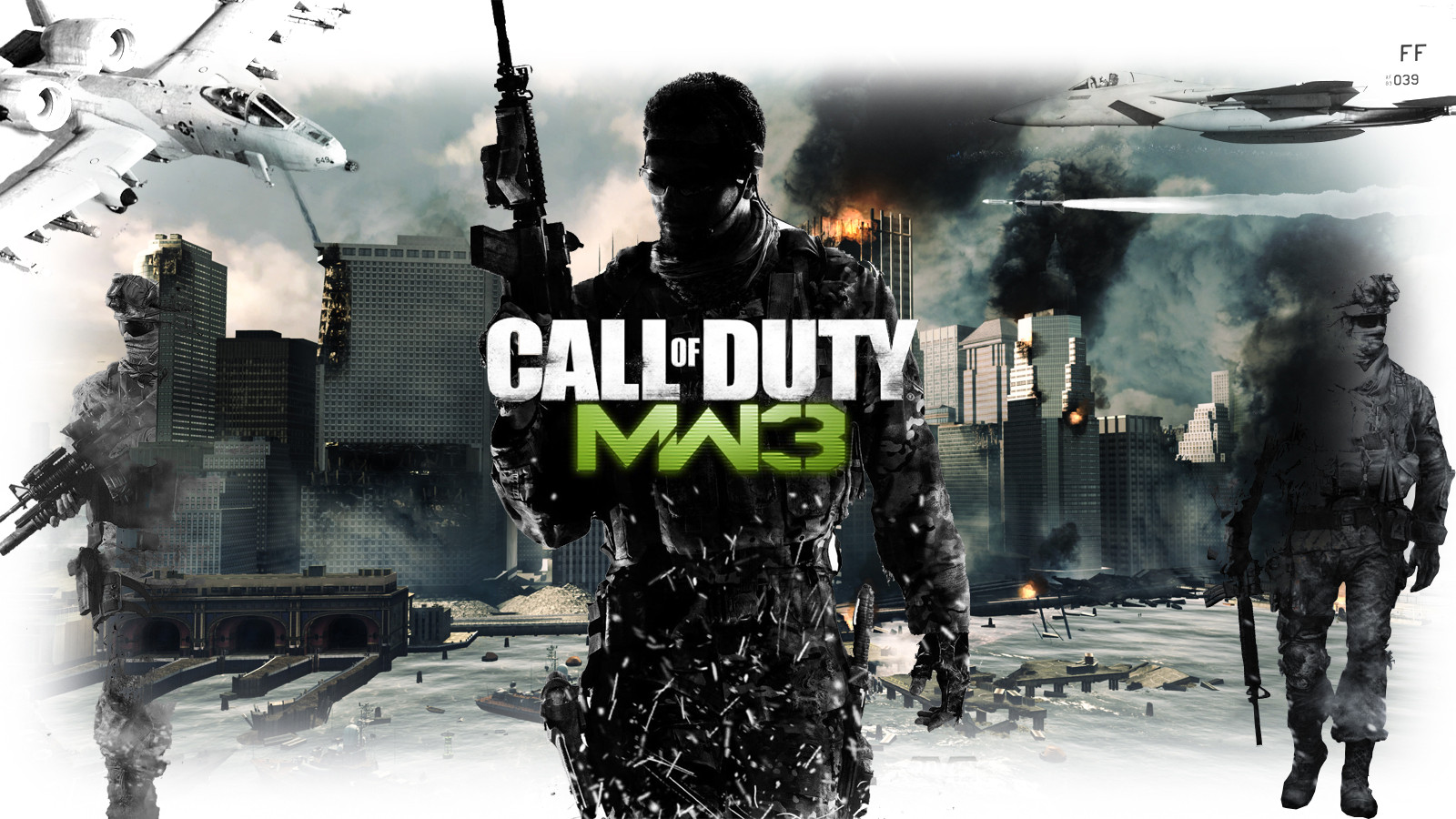 Call Of Duty Modern Warfare 3 Wallpaper 6