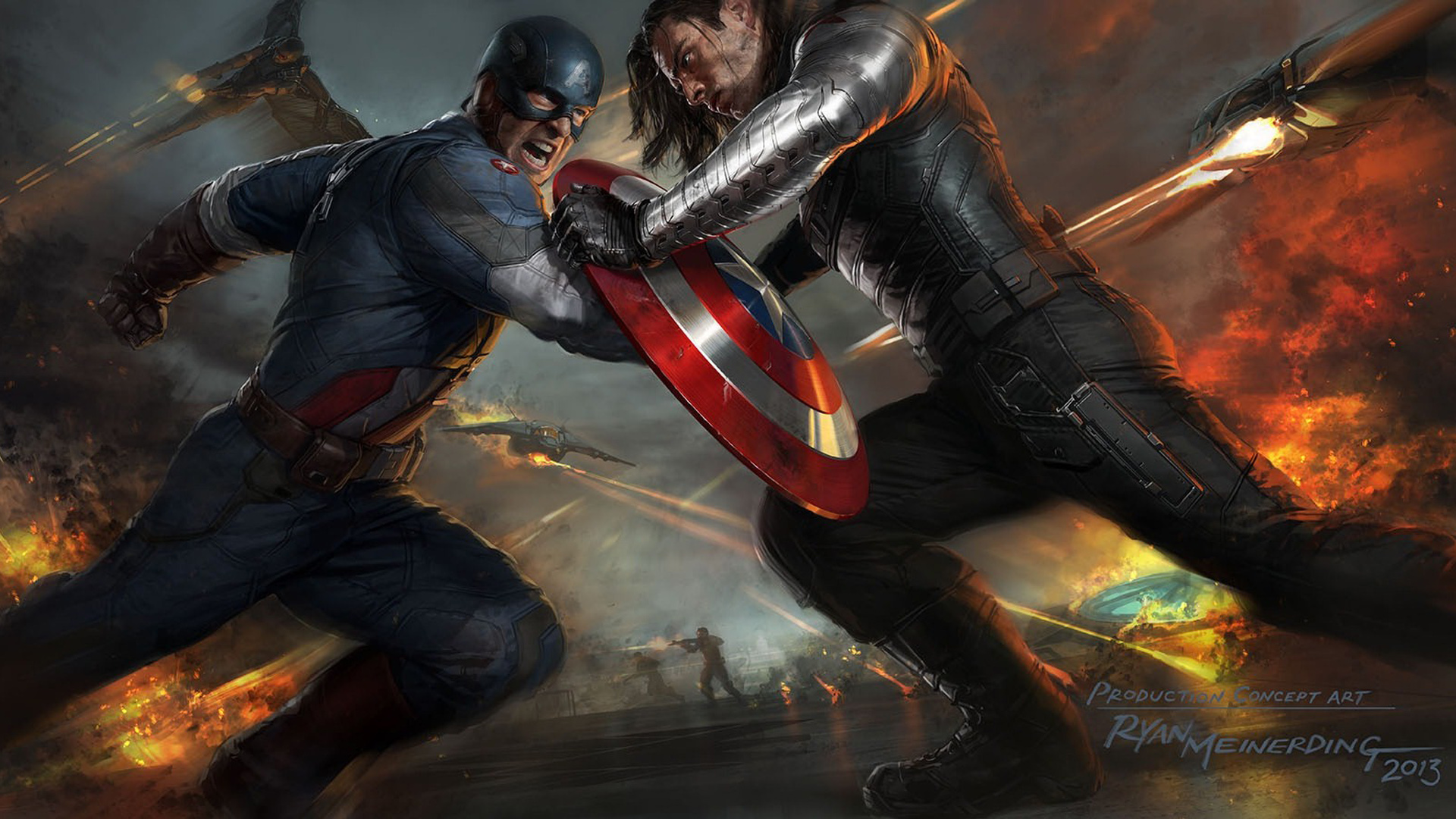 Captain America The Winter Soldier wallpaper 7