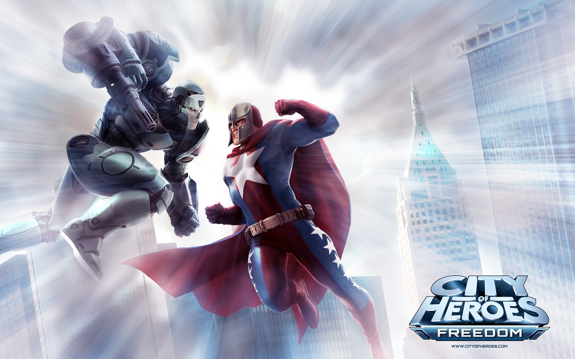 City of Heroes wallpaper 8
