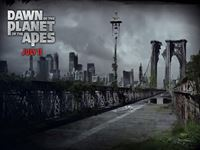 Dawn of the Planet of the Apes wallpaper 3