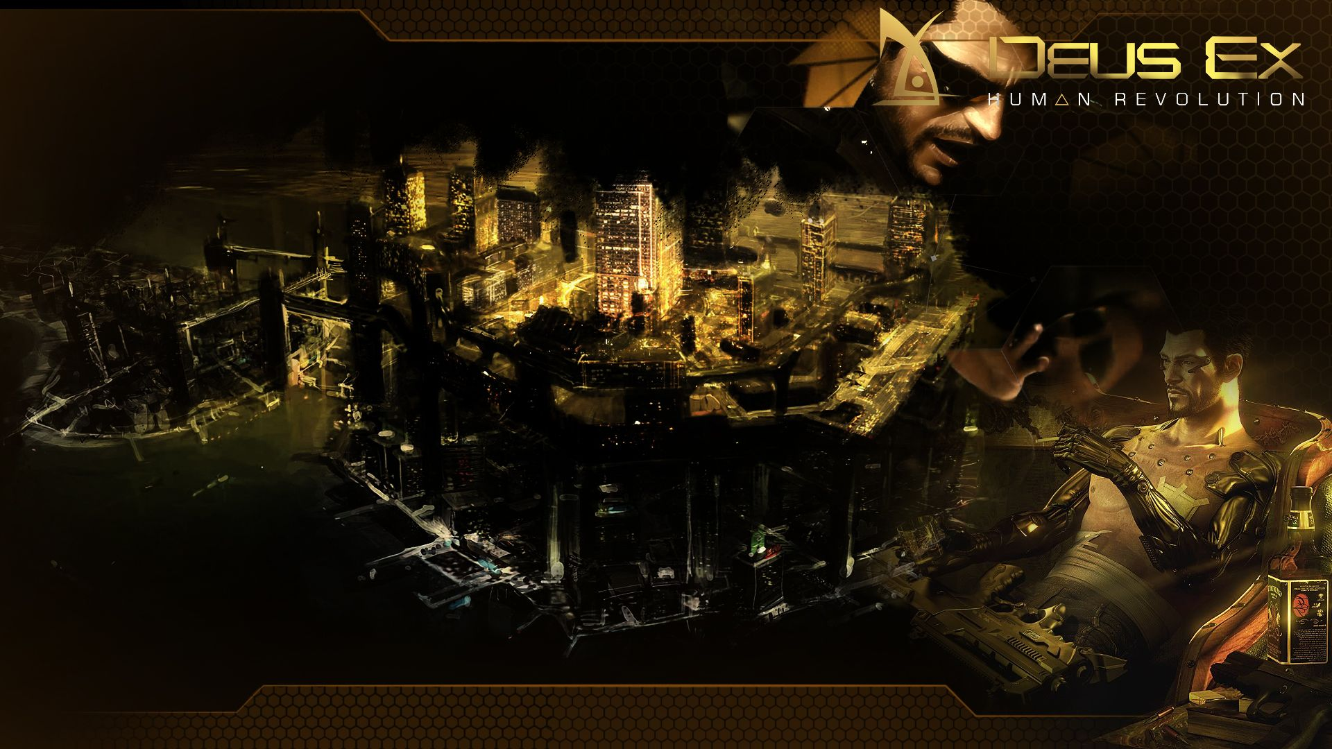 Deus Ex Human Revolution Wallpaper 1