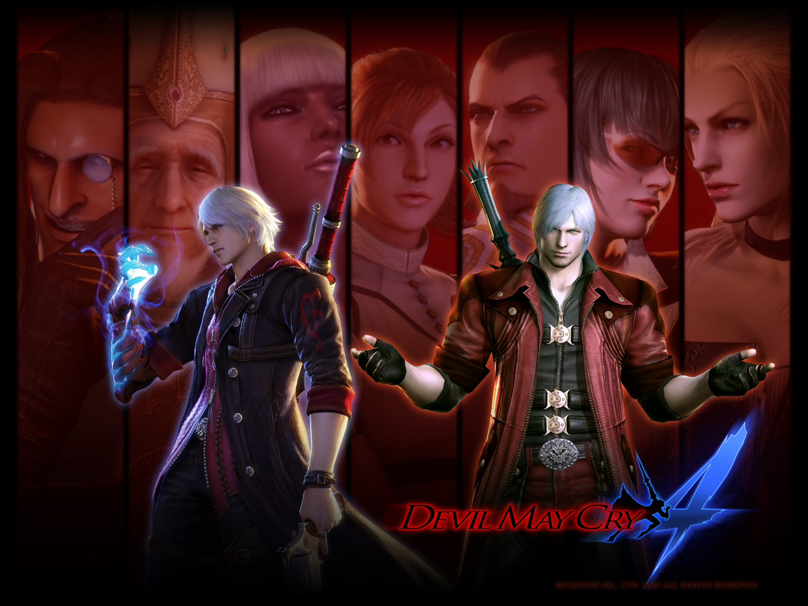 Devil May Cry 4 Wallpaper 8 Wallpapersbq
