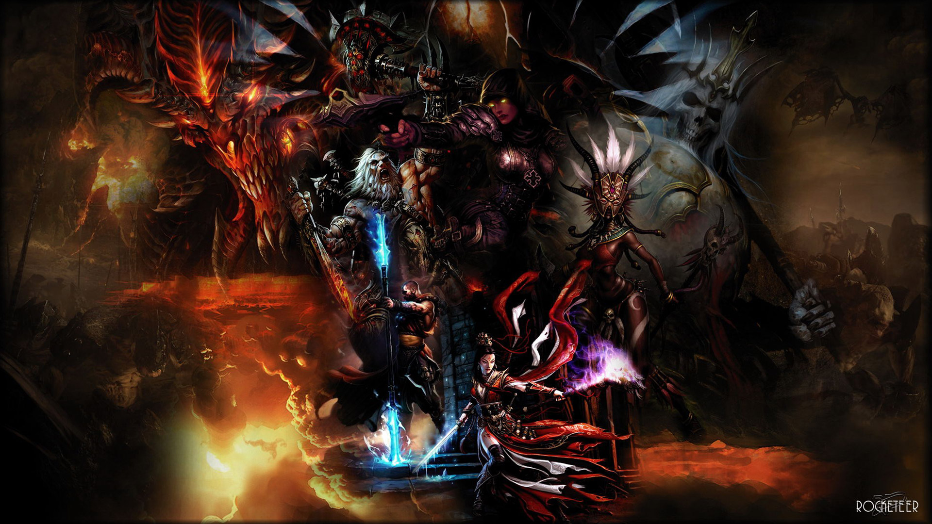 Diablo 3 wallpaper 36