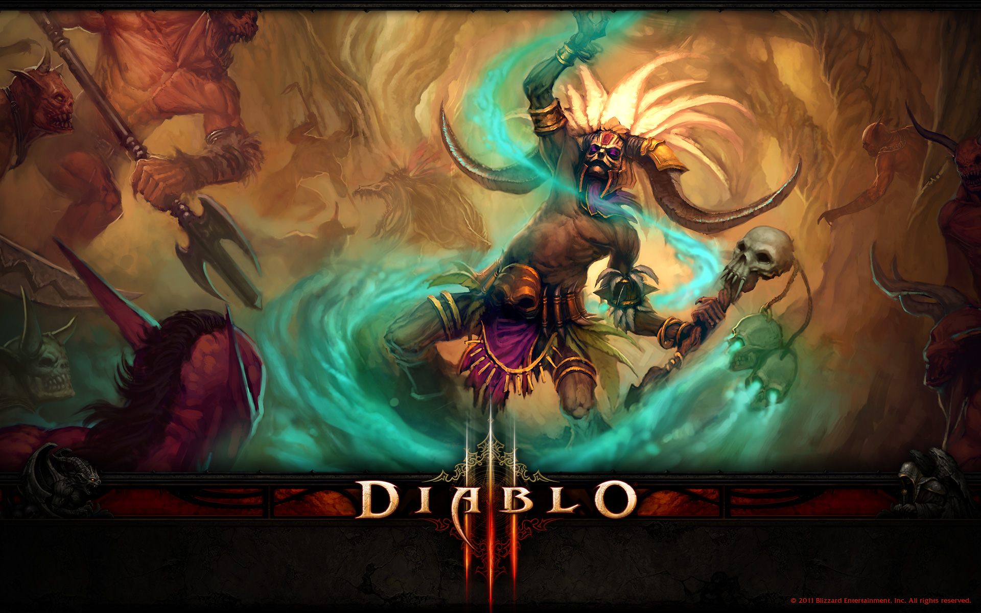 Diablo 3 wallpaper 9