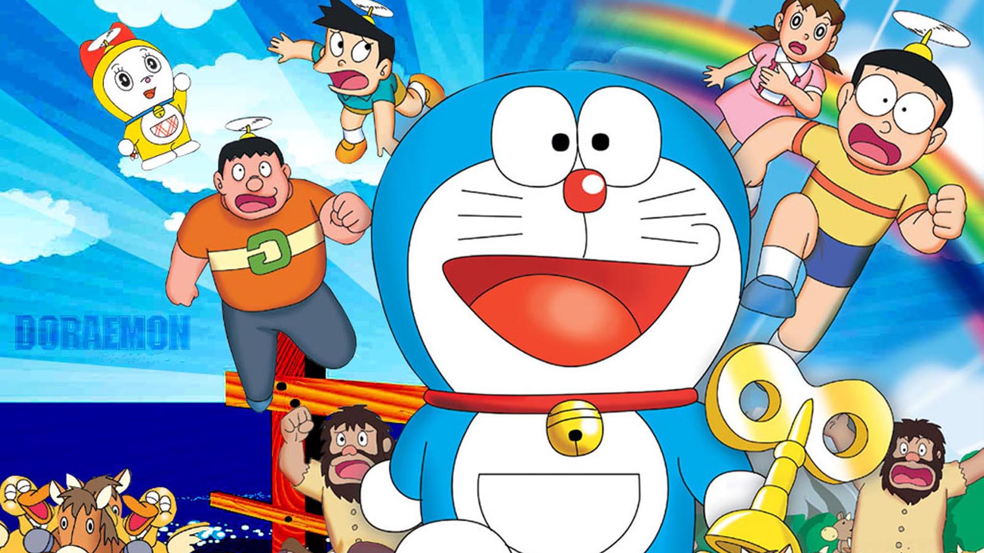 Doraemon With Pink Background iPhone  Plus and iPhone