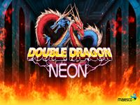 Double Dragon Neon Wallpaper 4 Wallpapersbq