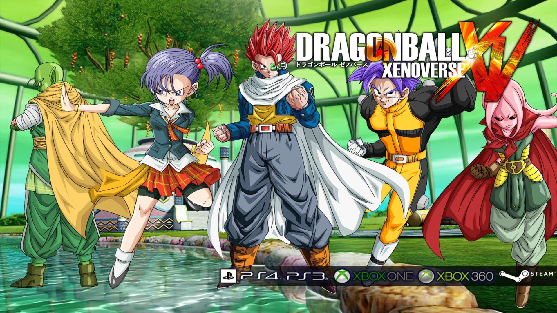 Dragon Ball XenoVerse wallpaper 4