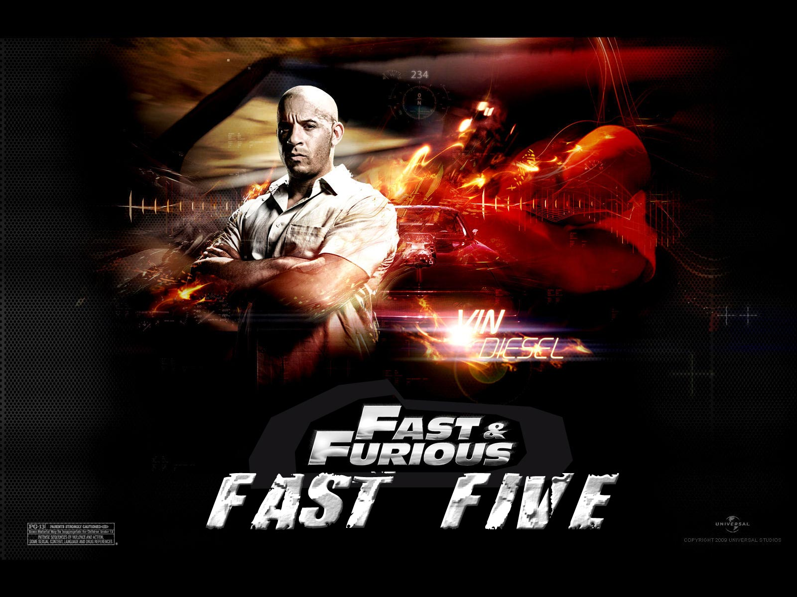 Fast and Furious Fast Five wallpaper 2