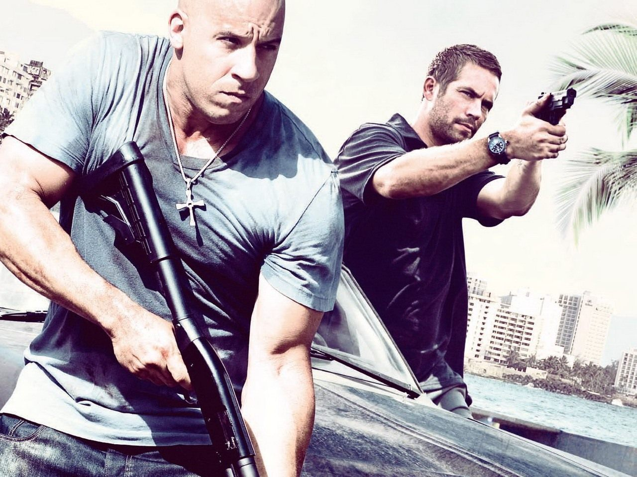 Fast and Furious Fast Five wallpaper 3