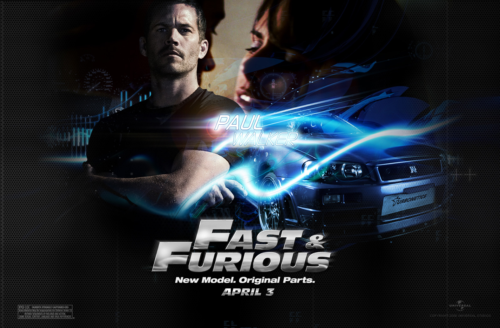 Fast and Furious Fast Five wallpaper 4