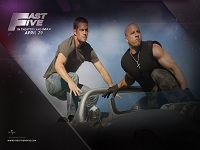 Fast and Furious Fast Five wallpaper 6