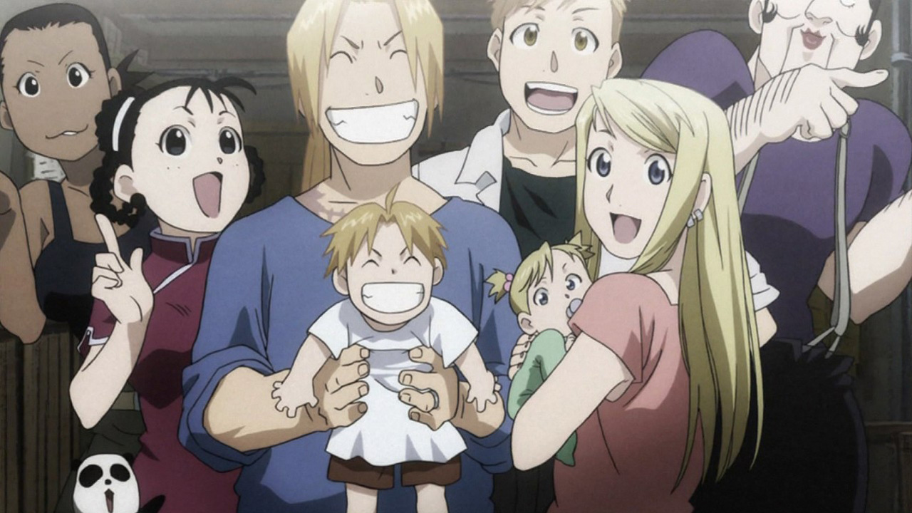 Fullmetal Alchemist Brotherhood wallpaper 5