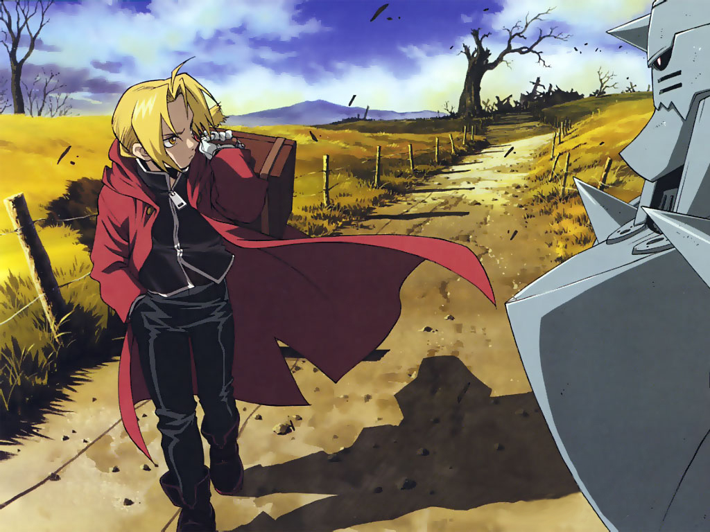 Fullmetal Alchemist Brotherhood wallpaper 9